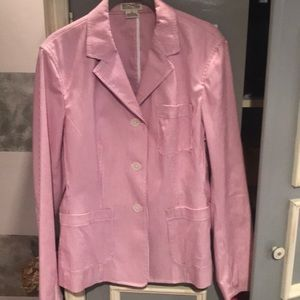 MichaelKors partially lined pinstripe jacket. NEW